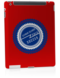 Cayman Islands Soccer Apple iPad 2 Skin