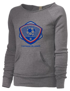 Cayman Islands Soccer Alternative Women's Maniac Sweatshirt