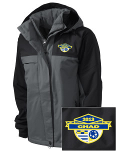 Chad Soccer  Embroidered Women's Nootka Jacket