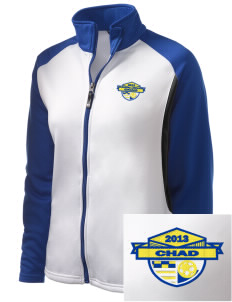 Chad Soccer Embroidered Holloway Women's Reaction Tri-Color Jacket