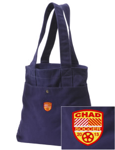 Chad Soccer Embroidered Alternative The Berkeley Tote