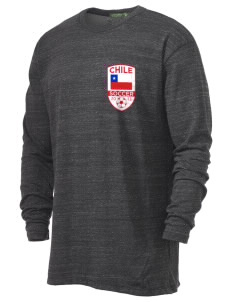 Chile Soccer Alternative Men's 4.4 oz. Long-Sleeve T-Shirt