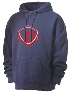 Chile Soccer Men's 80/20 Pigment Dyed Hooded Sweatshirt