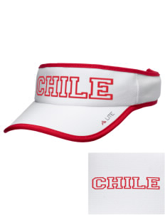 Chile Soccer Embroidered Lite Series Active Visor