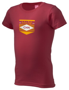China Soccer  Girl's Fine Jersey Longer Length T-Shirt