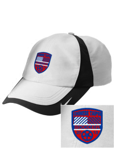 Chinese Taipei Soccer Embroidered Nike Golf Colorblock Cap