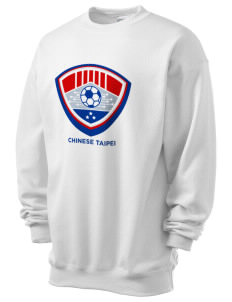 Chinese Taipei Soccer Men's 7.8 oz Lightweight Crewneck Sweatshirt