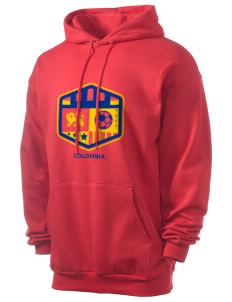 Colombia Soccer Men's 7.8 oz Lightweight Hooded Sweatshirt