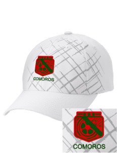 Comoros Soccer Embroidered Mixed Media Cap