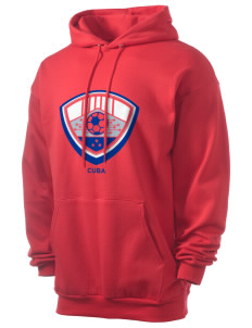 Cuba Soccer Men's 7.8 oz Lightweight Hooded Sweatshirt