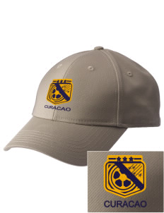 Curacao Soccer  Embroidered New Era Adjustable Structured Cap