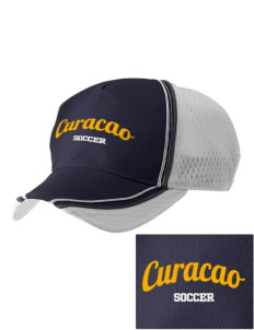 Curacao Soccer  Embroidered Champion Athletic Cap