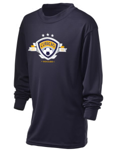 Curacao Soccer Holloway Kid's Performance Spark Long Sleeve T-Shirt