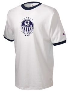 Cyprus Soccer Champion Men's Ringer T-Shirt