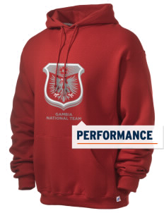 Gambia Soccer Russell Men's Dri-Power Hooded Sweatshirt