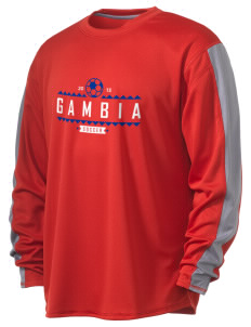 Gambia Soccer  Russell Men's Long Sleeve Everyday Performance T-Shirt