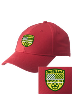 Grenada Soccer  Embroidered New Era Adjustable Structured Cap