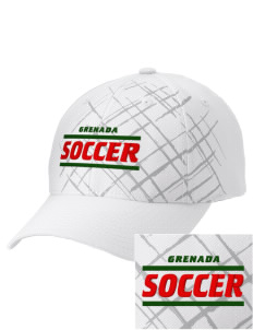 Grenada Soccer Embroidered Mixed Media Cap