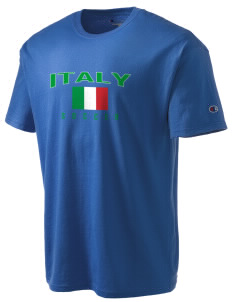 Italy Soccer Champion Men's Tagless T-Shirt
