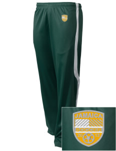 Jamaica Soccer Embroidered Holloway Men's Tricotex Warm Up Pants
