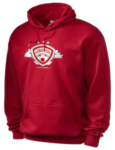 Lebanon Soccer Holloway Men's 50/50 Hooded Sweatshirt
