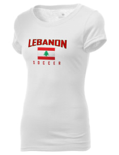 Lebanon Soccer Holloway Women's Groove T-Shirt