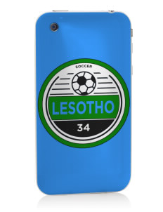 Lesotho Soccer Apple iPhone 3G/ 3GS Skin