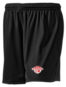 "Morocco Soccer Embroidered Holloway Women's Performance Shorts, 5"" Inseam"