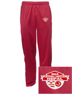 Nepal Soccer Embroidered Men's Tricot Track Pants