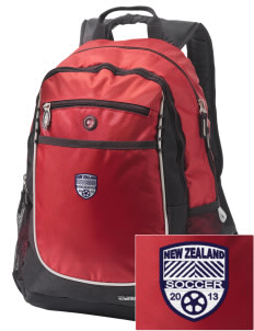 New Zealand Soccer Embroidered OGIO Carbon Backpack