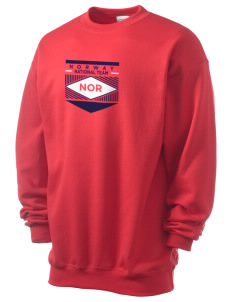 Norway Soccer Men's 7.8 oz Lightweight Crewneck Sweatshirt