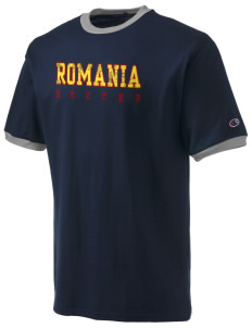 Romania Soccer Champion Men's Ringer T-Shirt