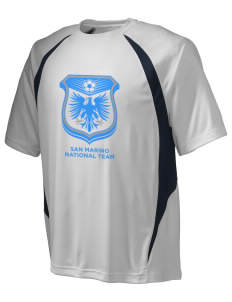 San Marino Soccer Champion Men's Double Dry Elevation T-Shirt