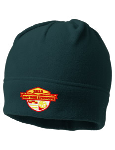 Sao Tome e Principe Soccer Embroidered Fleece Beanie