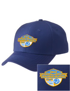 Solomon Islands Soccer  Embroidered New Era Adjustable Structured Cap