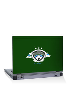 "Solomon Islands Soccer 14"" Laptop Skin"