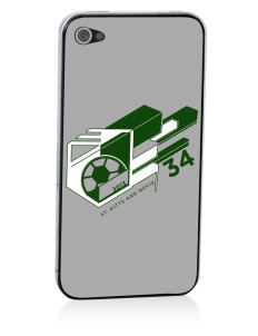 St. Kitts and Nevis Soccer Apple iPhone 4/4S Skin