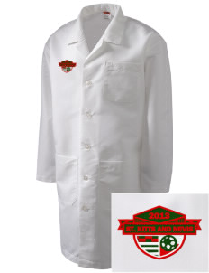 St. Kitts and Nevis Soccer Full-Length Lab Coat