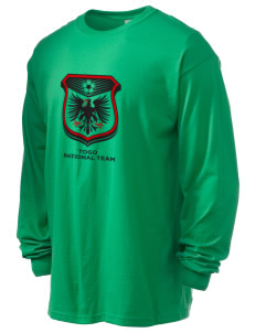 Togo Soccer 6.1 oz Ultra Cotton Long-Sleeve T-Shirt