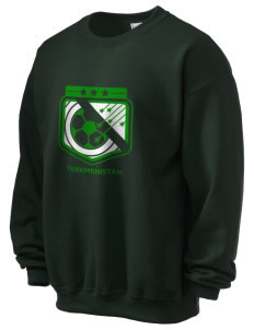 Turkmenistan Soccer Ultra Blend 50/50 Crewneck Sweatshirt