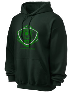 Turkmenistan Soccer Ultra Blend 50/50 Hooded Sweatshirt