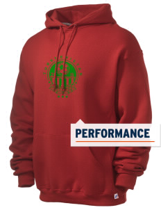 Turkmenistan Soccer Russell Men's Dri-Power Hooded Sweatshirt