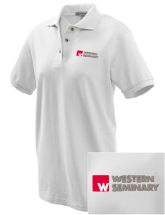 Western Seminary Est. 1927 Embroidered Women's Pique Polo
