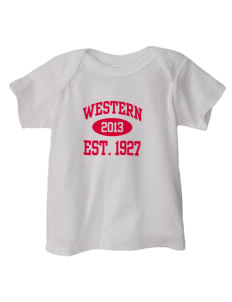 Western Seminary Est. 1927  Baby Lap Shoulder T-Shirt