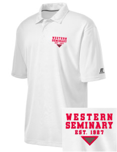 Western Seminary Est. 1927 Embroidered Russell Coaches Core Polo Shirt
