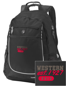 Western Seminary Est. 1927 Embroidered OGIO Carbon Backpack