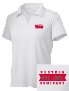 Western Seminary Est. 1927 Embroidered Women's Double Mesh Polo