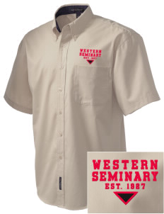 Western Seminary Est. 1927 Embroidered Men's Easy Care Shirt