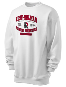 Rose-Hulman Institute of Technology Engineer Athletics Men's 7.8 oz Lightweight Crewneck Sweatshirt