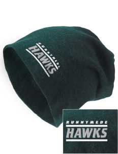 Runnymede Elementary School Hawks Embroidered Slouch Beanie